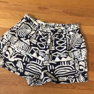 Forever 21 Tribal Print Shorts